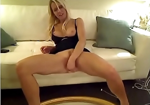 Blonde Hottie Show Squirts First Time On Webcam From 6969cams.com