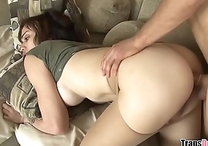 Do you like my cock in this pantyhose? - Luna Rose