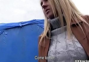 Public Pickup Porn - Sexy Amateur Teen Fucked For Cash 30