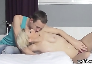 Dude assists with hymen checkup and plowing of virgin chick