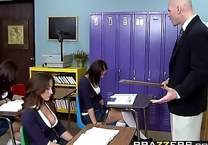 Brazzers - Big Tits at Trainer -  A Rumor That Goes Around, Cums Around On Your Tits scene starring L