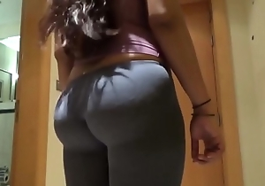 Desi Big Ass Wife Doggy Fuck With Strident Moans 4