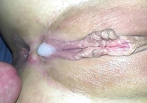 Closeup Fingering  &amp_ Fuck Meaty Pussy Creampie Amateur MalloryA