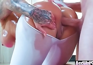 Sexy Oiled Chunky Ass Girl (Ryan Conner) Enjoy Hard Anal Sex video-26