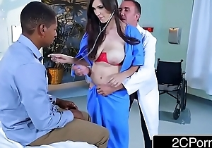 Dirty Nurse Holly Michaels Fucks In Front Of Patients