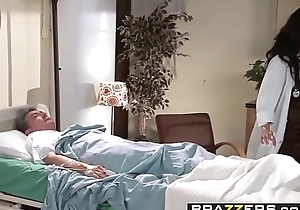 Brazzers - Doctor Adventures -  Genital Hospital scene starring Angelina Valentine together with Chris Strokes