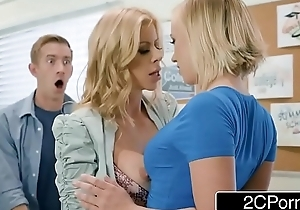 Lucky Guy Fucks Conglomeration Mate And Teacher - Alexis Fawx, Bailey Brooke