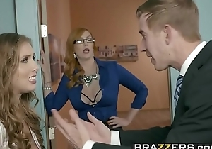 Brazzers - Big Tits at Work -  The Extremist Girl Part 3 scene starring Lauren Phillips, Lena Paul and Dan