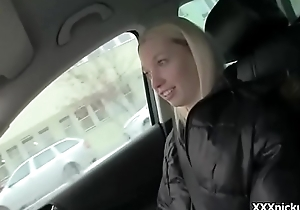 Teen Czech Girl Sucking Load of shit For Cash In Public Video 23