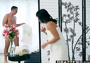 Brazzers - Dirty Masseur -  Nonconformist Cock Massager scene starring Ayumu Kase and Keiran Lee