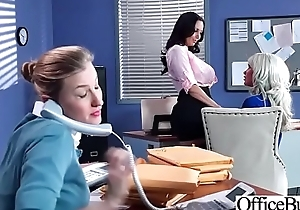 Office Sluty Girl (Ava Addams &amp_ Riley Jenner) With Big Round Boobs Banged Hard video-03
