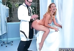 Gorgeous Patient (Cherie Deville) Get Nailed Hardcore By Doctor video-12