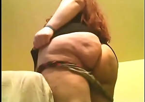 BBW Shows Withdraw Her Big Fat White Ass
