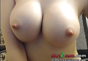 Big Tits Russian Babe Multiple Orgasm - WWW.SLUT2CAM.COM