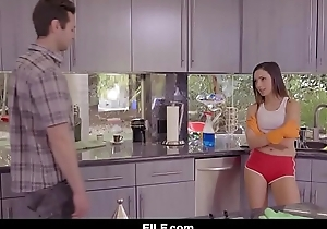 FILF - Jaye Summer sucks and fucks her perverted stepbrother.