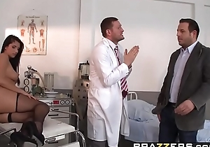Brazzers - Doctor Adventures -  Milgrams Experiment scene starring Melissa Ria and Yanick Shaft